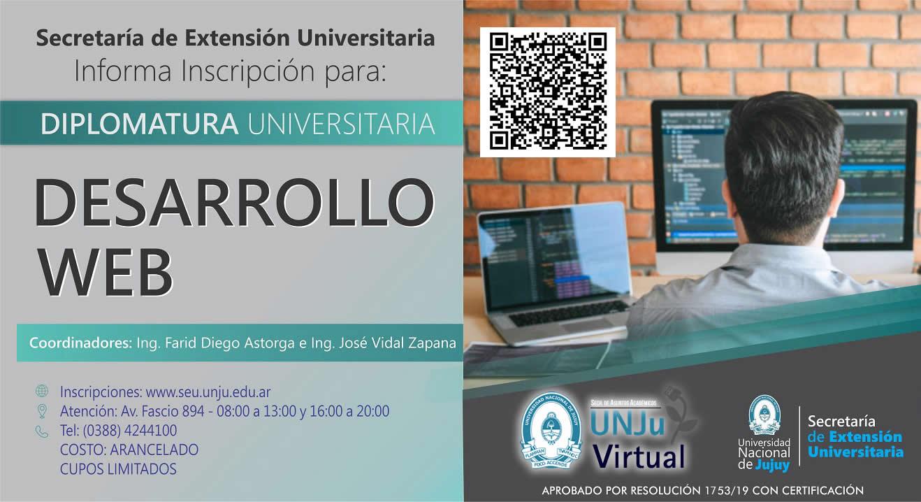 Diplomatura Universitaria en Desarrollo Web